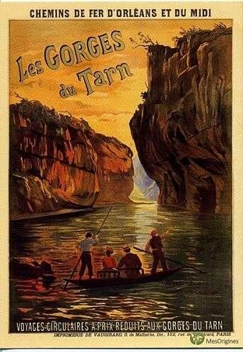 affiche ancienne tarn