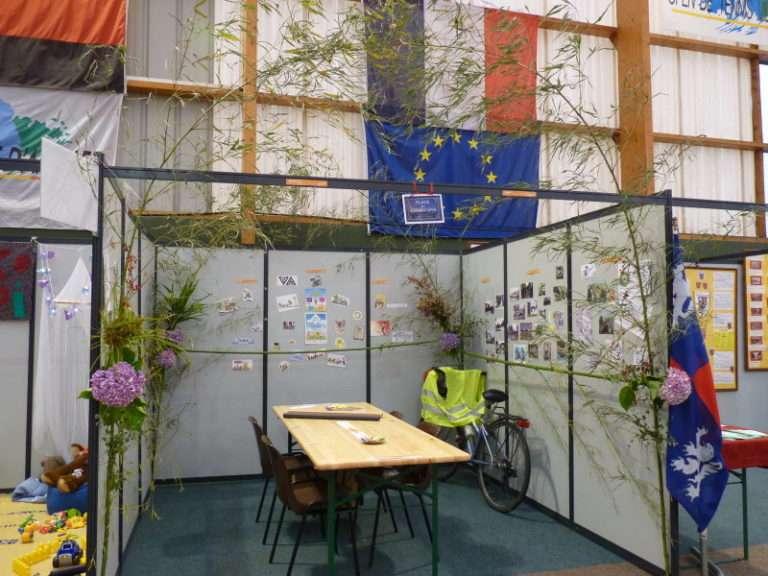 Stand des Amis-Chemins au Forum 2014 des Associations d'Anglet