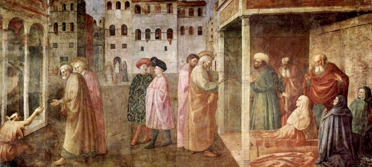 Masolino Brancacci Chapel 01