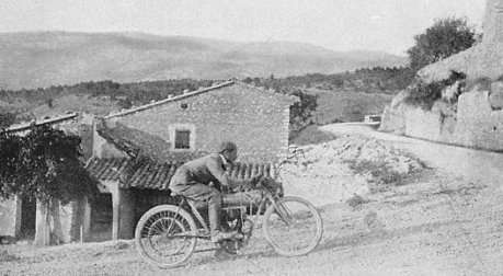 Mont Ventoux Motorradrennen 1904