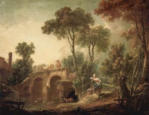 boucher le pont 1751