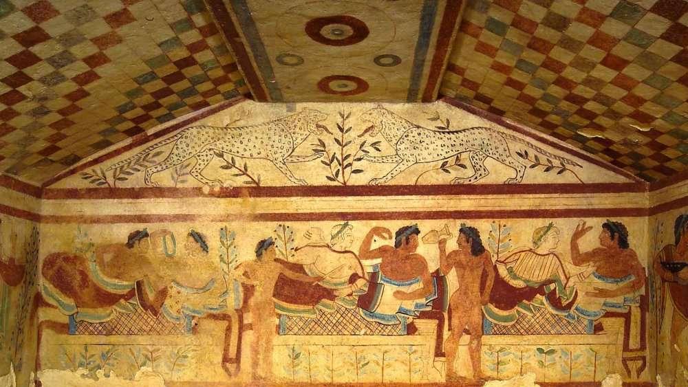 tarquinia necropole etrusque