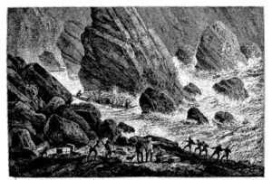 """<em>-<a href=""""http://www.alainbernardenthailande.com/article-a166-la-premiere-expedition-fran-aise-du-mekong-1866-1888-124795735.html"""" target=""""_blank"""" rel=""""noopener"""">Illustration</a>: Rapides sur le Mékong (Dessin du capitaine de frégate Ernest Doudart de Lagrée) -</em>"""