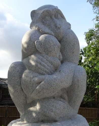 Sculpture deTsai Yung Wu(dans le petit parc autour du musée scientifique de Chiayi)