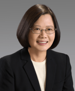 Tsai Ing-wen, présidente de Taïwan depuis 2016 (Parti démocratique progressiste)