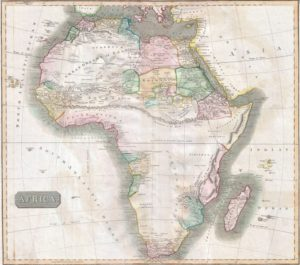 1813 Thomson Map of Africa   Geographicus   Africa thomson 1813