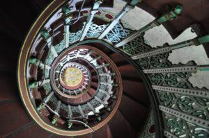 abbadia escalier