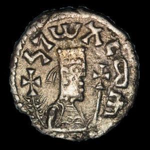 monnaies autres monnaies etrangeres ethiopie royaume d axoum armah vers 625 650 unite d argent avec incrustation d or 130387A