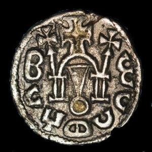 monnaies autres monnaies etrangeres ethiopie royaume d axoum armah vers 625 650 unite d argent avec incrustation d or 130387R