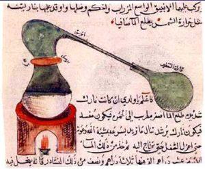 alambic distillation alchimie arabe xviiie