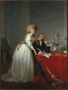 david portrait de lavoisier et sa femme