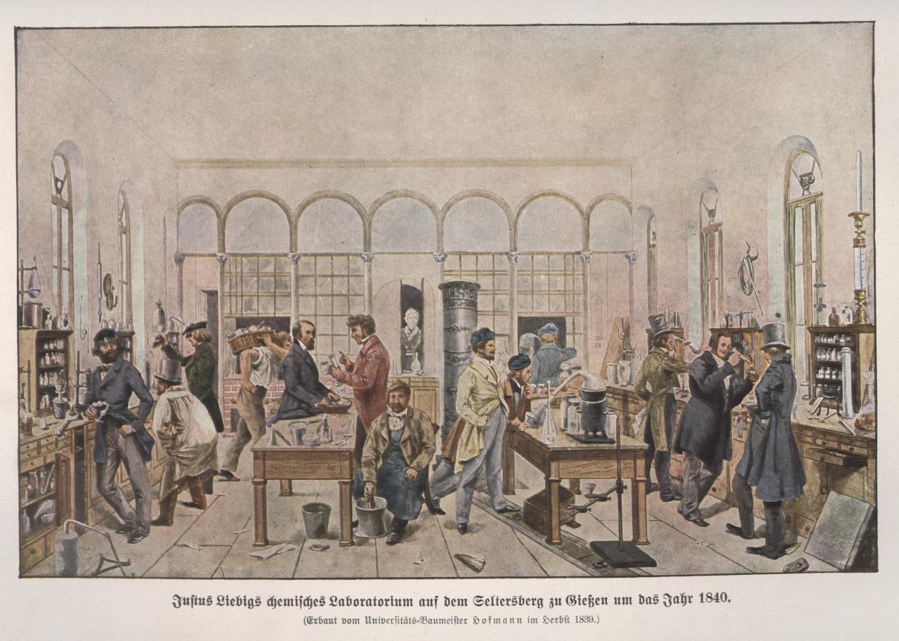 Justus von Liebigs Labor 1840