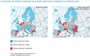 b7 stress hydrique europe