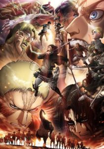 a3Shingeki no Kyojin Season 3 PArt 2 anime Visual Art