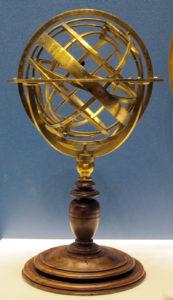 Carlo plato sfera armillare roma 1578