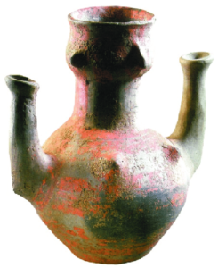 Anthropomorphic vessel from Svodin dated to the Lengyel culture after