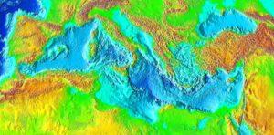 Mediterranean Sea surface